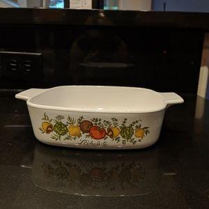 Corningware Spice of Life casserole serving dish